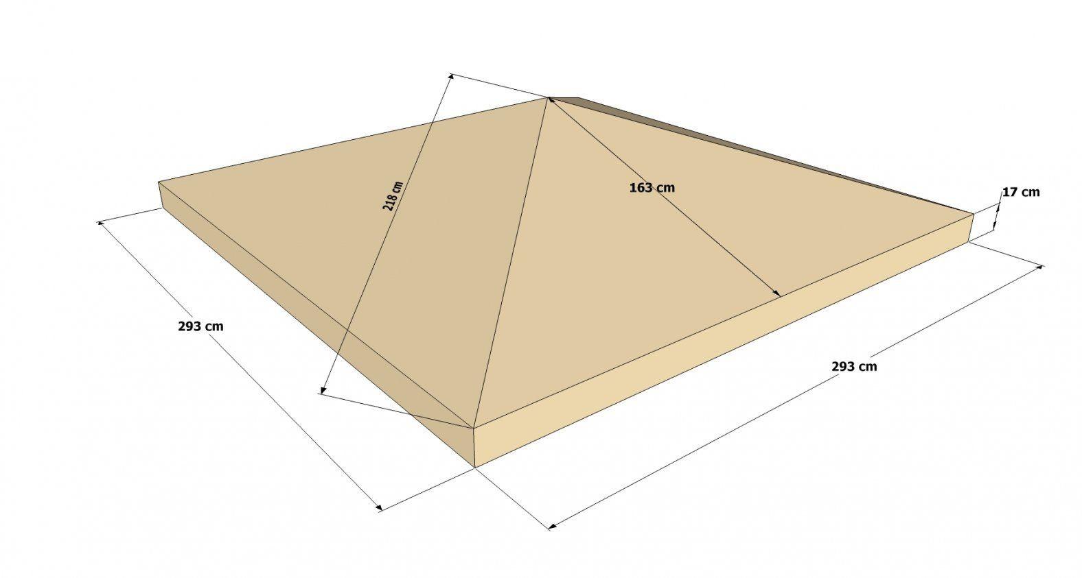 Pavillon 3X3 M  Theurbanloft von Ersatzdach Für Pavillon 3X3 Bild