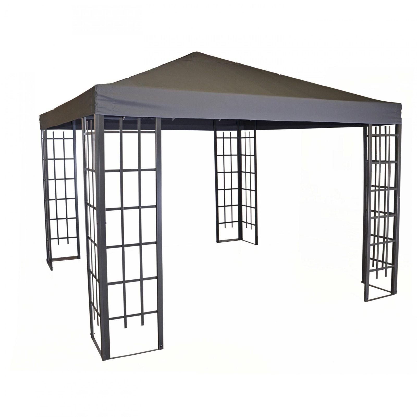Pavillon 3×3 Metall Rm52 – Hitoiro von Metall Gartenpavillon 3X3 M Bild