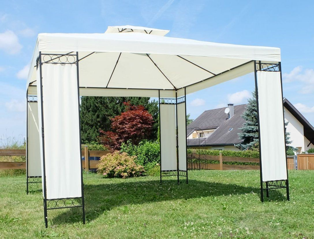 Pavillon 3×3 Meter Pv03 – Hitoiro von Metall Gartenpavillon 3X3 M Photo