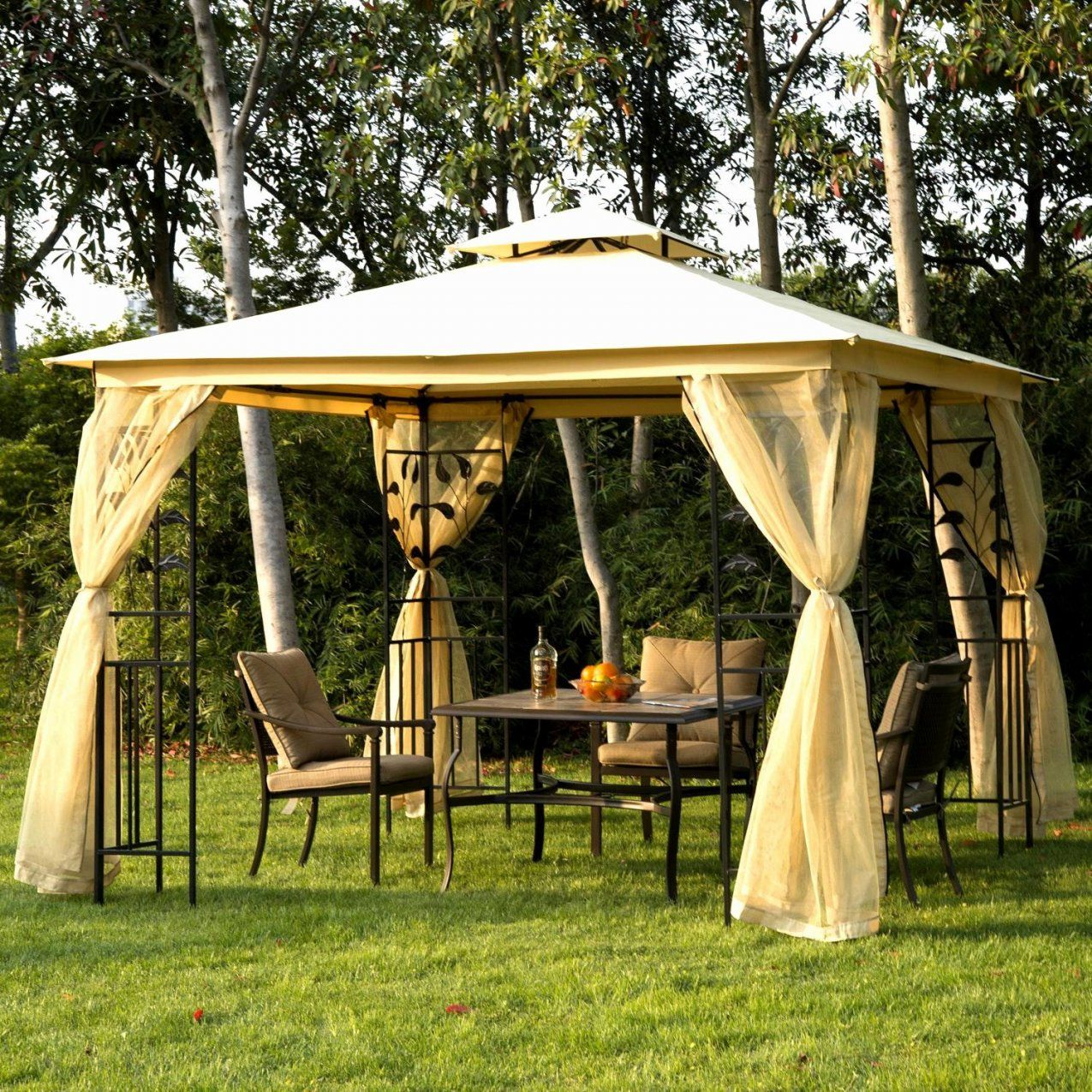 pavillon 3x3 wasserdicht g nstig haus design ideen. Black Bedroom Furniture Sets. Home Design Ideas