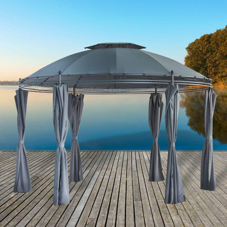 Pavillon  Gartenpavillon Sevilla 35 M Rund von Pavillon Mit Wasserdichtem Dach Photo