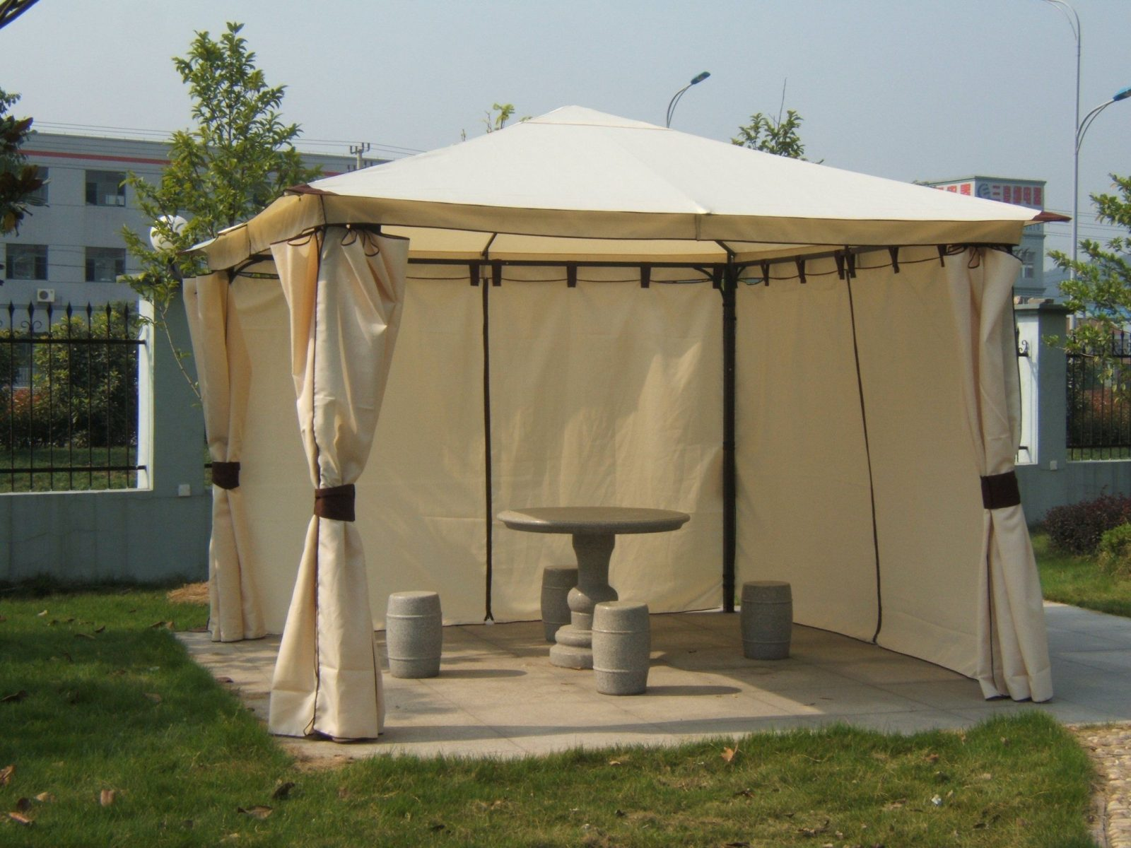 Pavillon Kaufen 3×3 Wo49 – Hitoiro von Ersatzdach Pavillon 4X4 Wasserdicht Bild