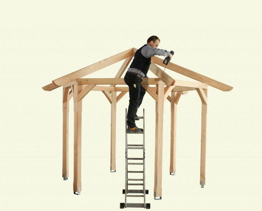 Pavillon Selber Bauen Anleitung+25 Elegante Gestaltungsideen von Gartenpavillon Aus Holz Selber Bauen Photo