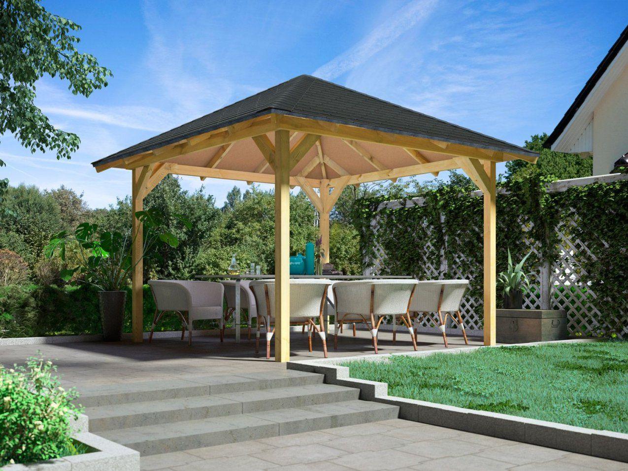 Pavillons & Überdachungen Günstig Online Kaufen  Lidl von Holz Pavillon Bausatz Günstig Bild
