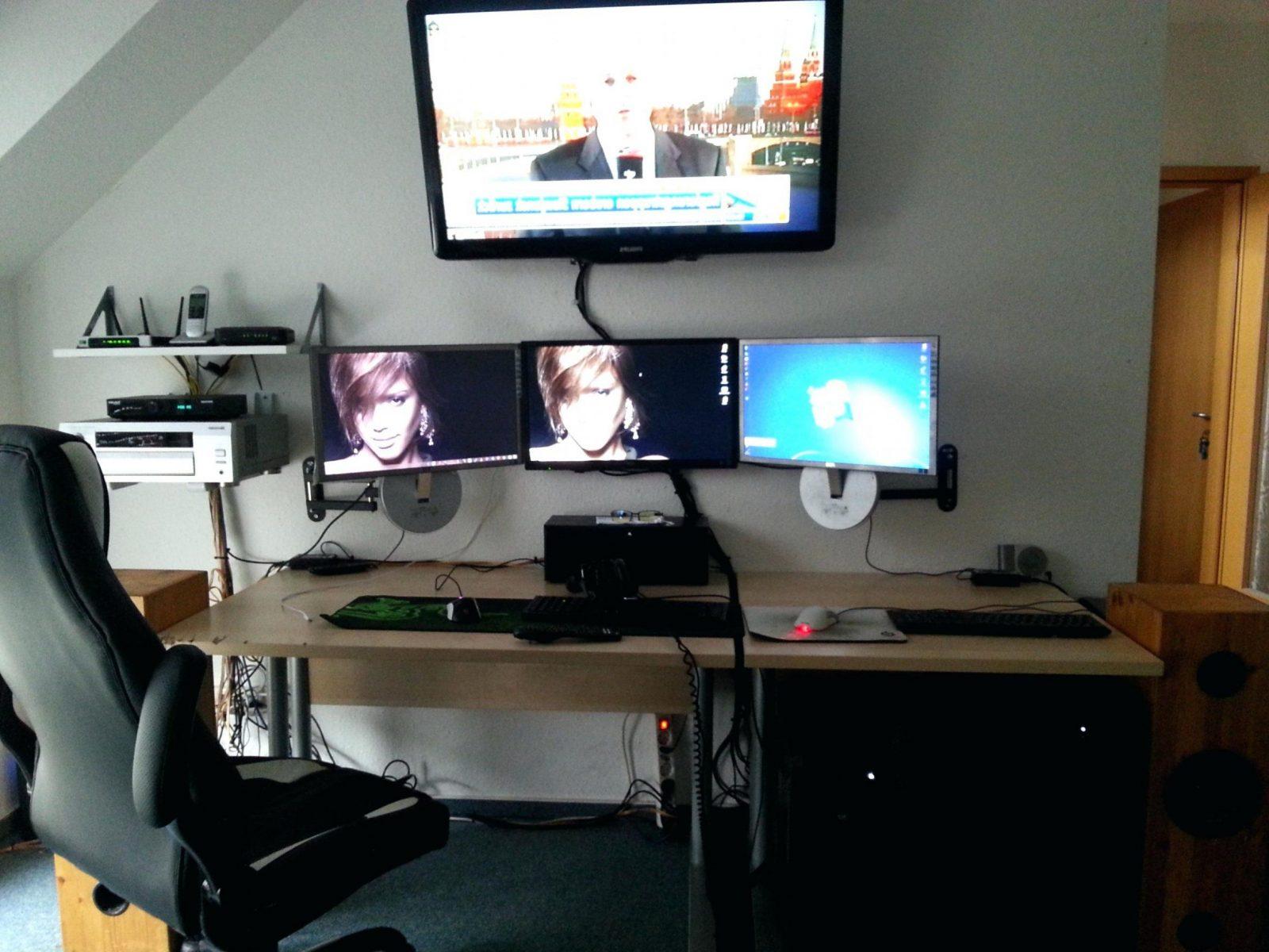 gaming schreibtisch selber bauen haus design ideen. Black Bedroom Furniture Sets. Home Design Ideas