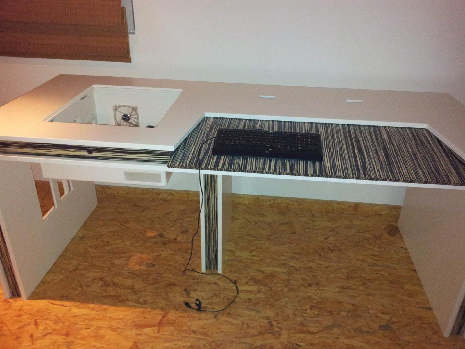 Pc Tisch Selber Bauen Atemberaubend Auf Kreative Deko Ideen Für von Pc Im Tisch Selber Bauen Photo