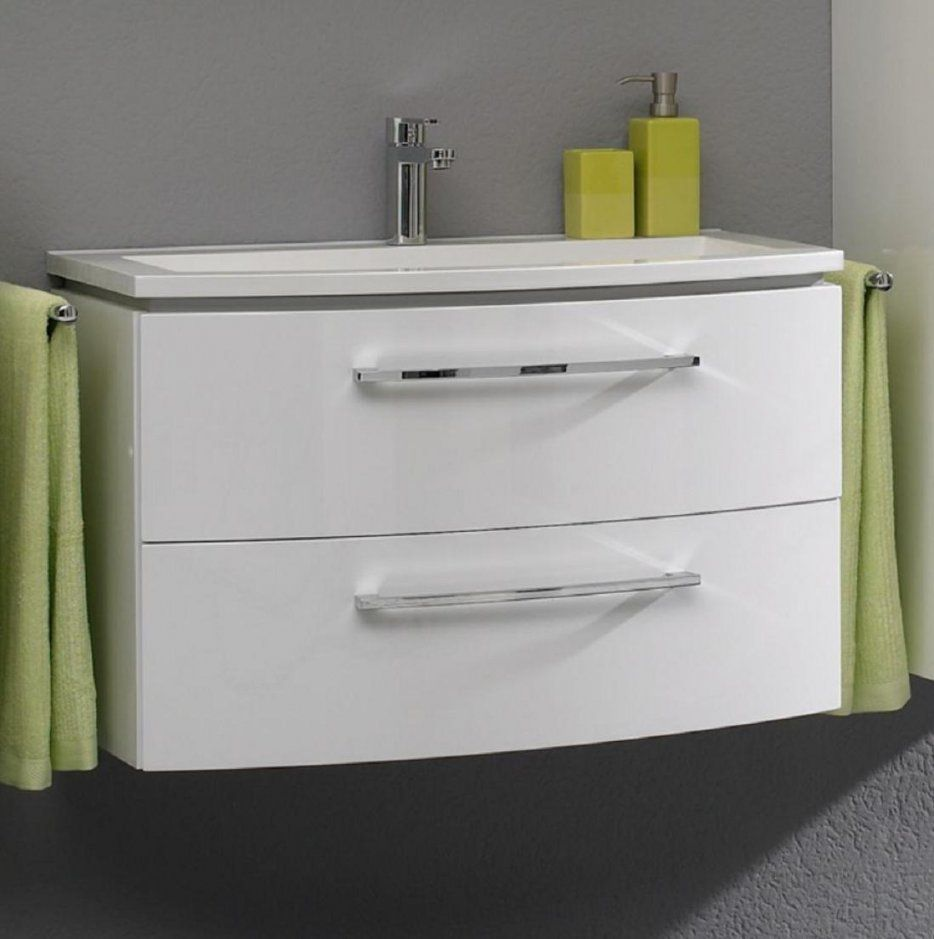 Pelipal Lunic Waschtischset 80 Cm Breit  43 Cm Tief Günstig Kaufen von Waschtisch 30 Cm Tief Bild