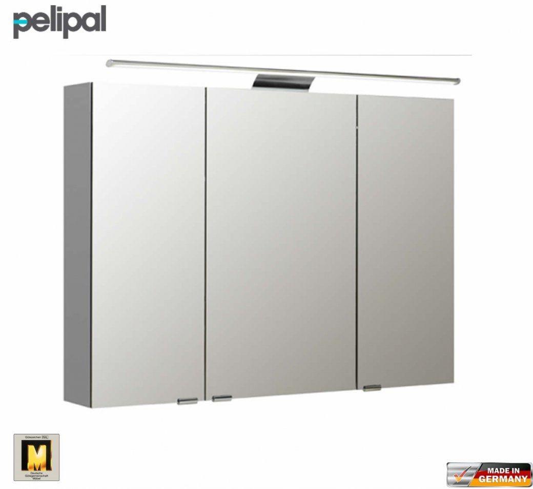 Pelipal Neutraler Spiegelschrank S5 100 Cm Mit Led Aufbauleuchte von Bad Spiegelschrank 100 Cm Breit Bild