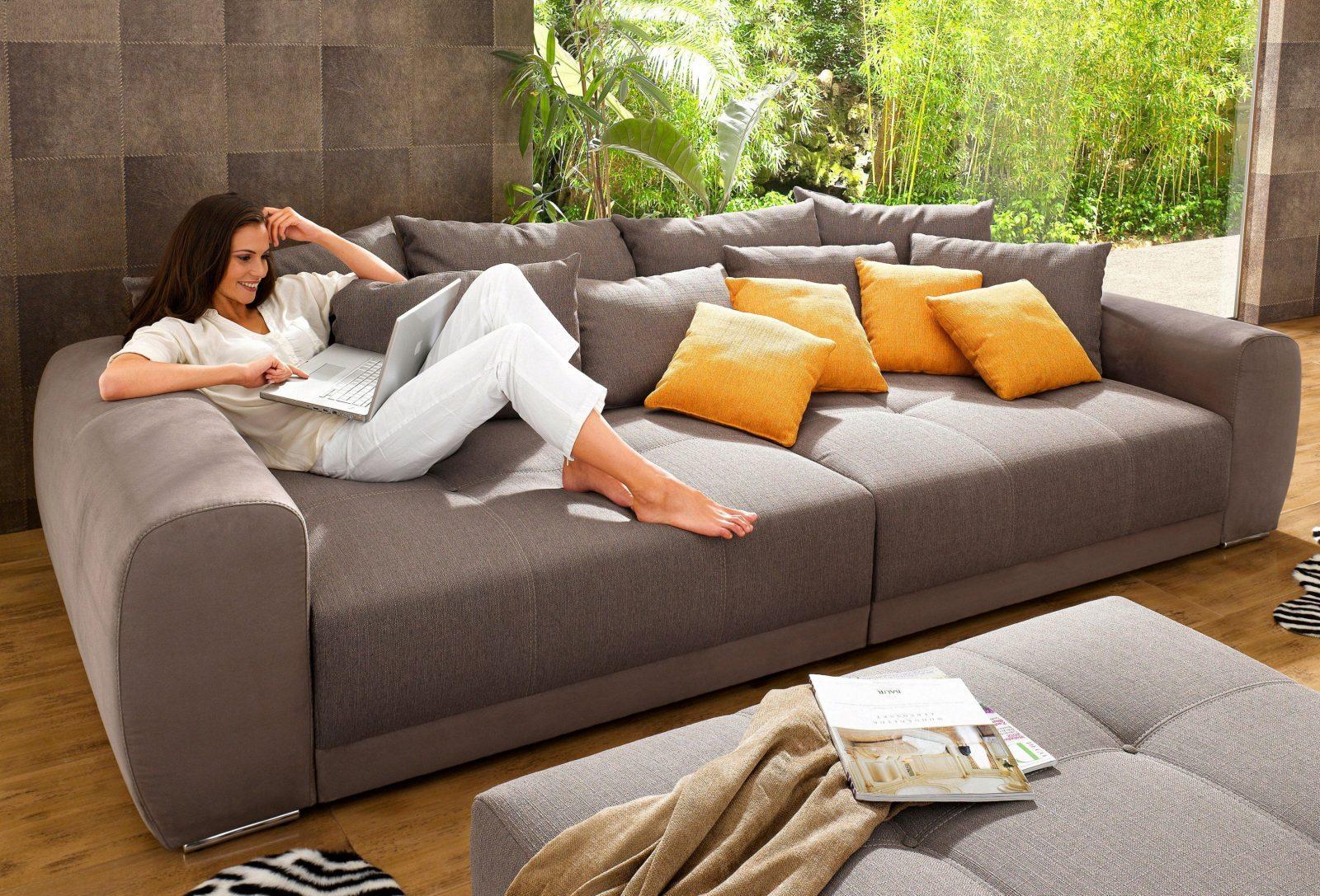 perfekt xxl big sofa couch g nstig auf rechnung raten kaufen zum von big sofa auf rechnung. Black Bedroom Furniture Sets. Home Design Ideas