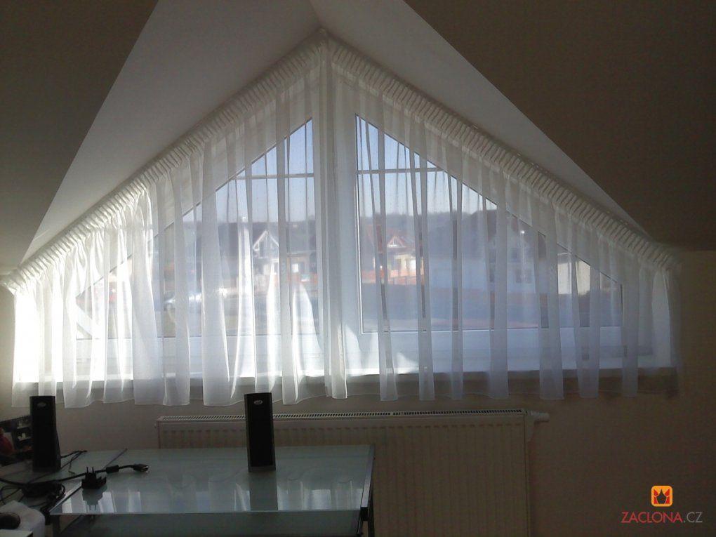 Perfekte Gardinen Schräge Fenster  Fenster Gardinen Galerien von Gardinen Schräge Fenster Selber Nähen Photo