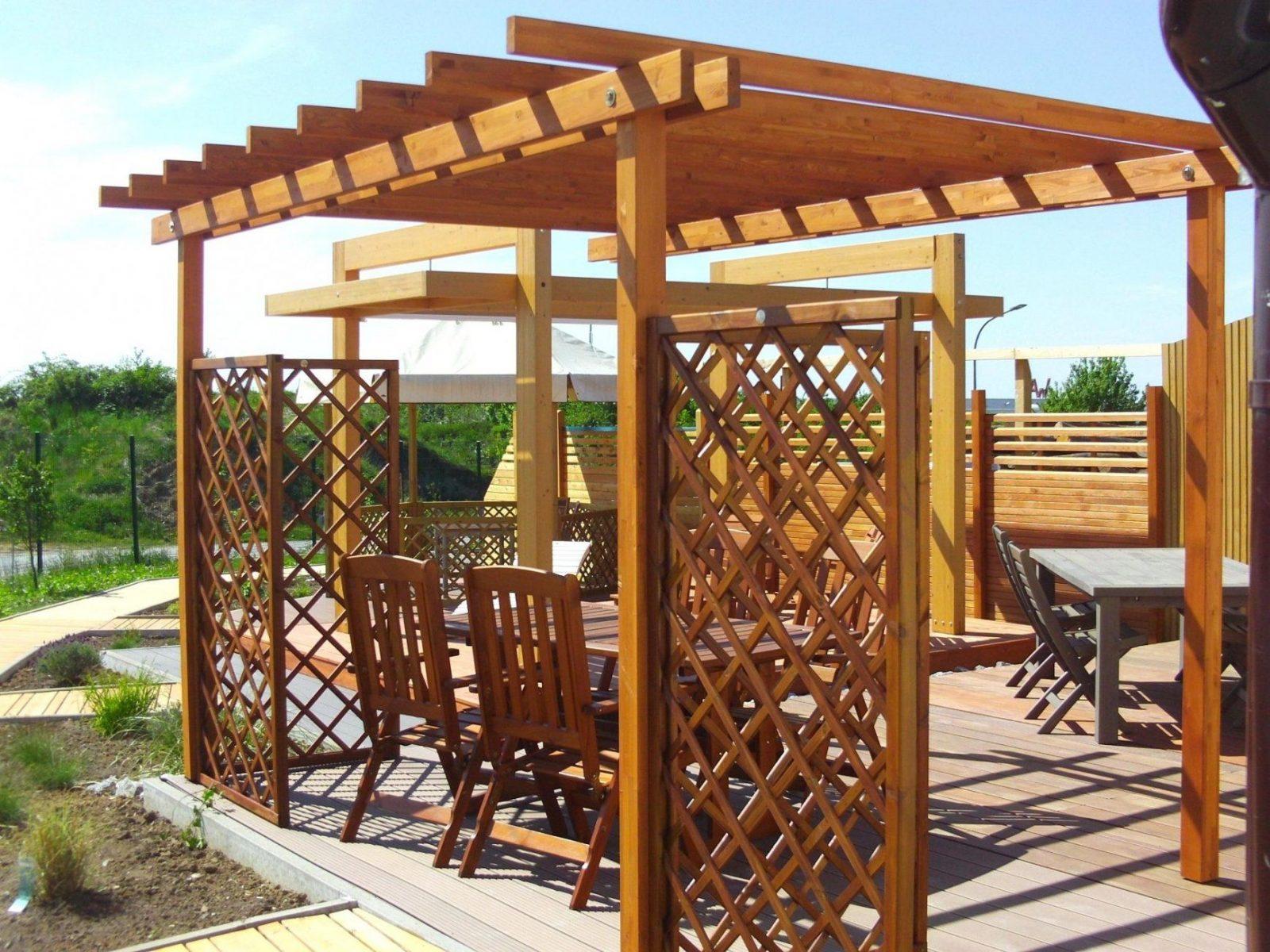 Pergola Bausatz Forst Und Holz Dienstleistungen Selbsttragend von Pergola Bausatz Freistehend Holz Bild