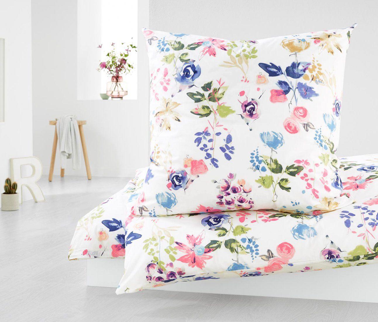 Perkalbettwäsche Übergröße Online Bestellen Bei Tchibo 342094 von Tchibo Bettwäsche Blumen Photo