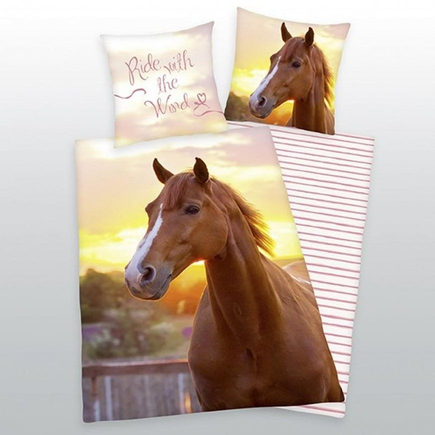 Pferde Bettwäsche Günstig Online Kaufen  Real von Pferde Bettwäsche 100X135 Bild