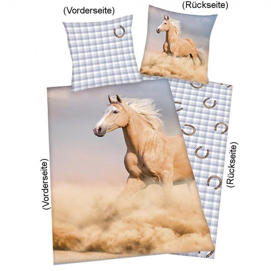 """Pferdebettwäsche """"palomino"""" 135X200Cm Renforce  Real von Bettwäsche Pferde Fotodruck Bild"""