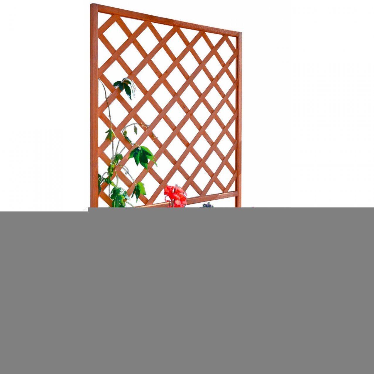 Pflanzkasten Mit Rankgitter Kaufen Bei Obi von Blumenkasten Mit Rankgitter Selber Bauen Bild