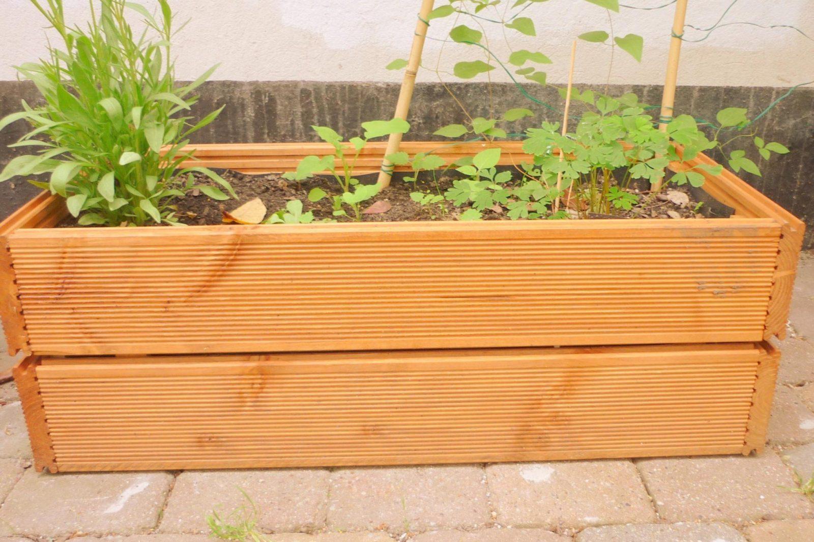 Pflanztrog Holz Selber Bauen  Die Schönsten Einrichtungsideen von Holz Blumenkübel Selber Bauen Bild