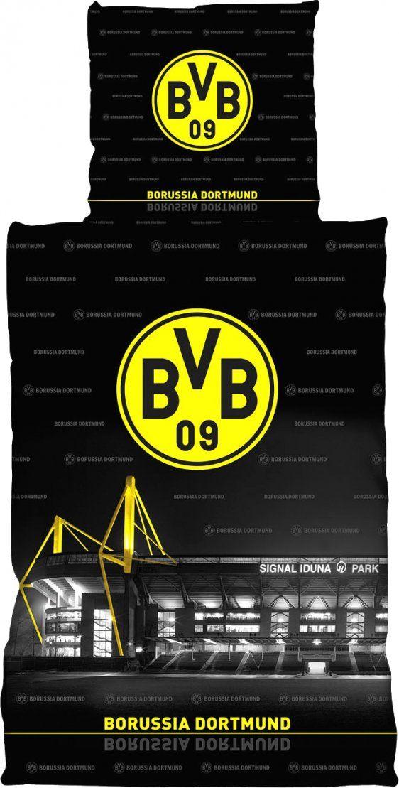 Phantasievolle Inspiration Borussia Dortmund Bettwäsche Und Tolle In von Bvb Bettwäsche 155X220 Bild
