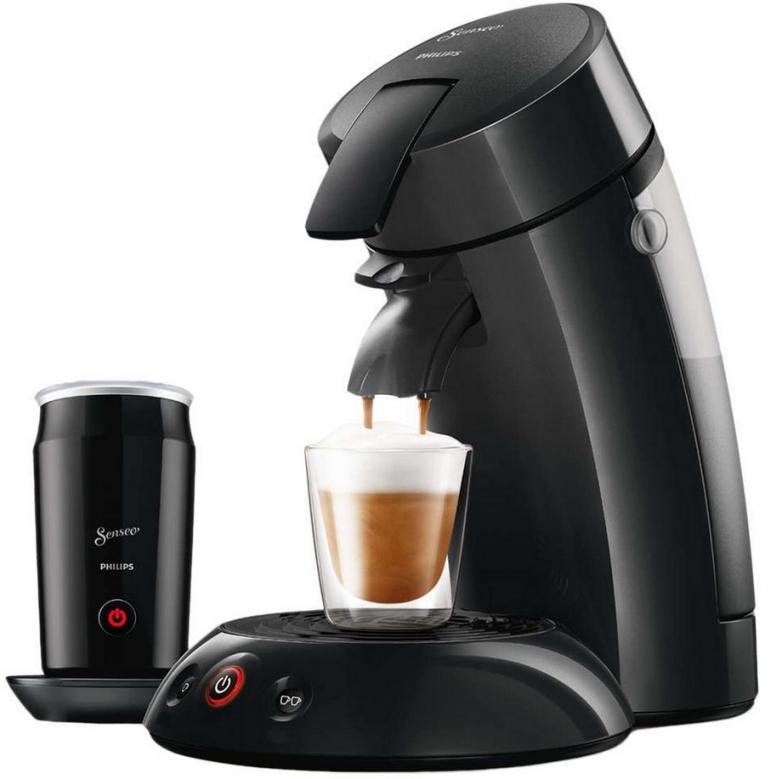 Philips Senseo Hd781719 + Milk Hd781960 Für 62€ – Kaffeepadmaschine von Senseo Pads Angebot Netto Bild