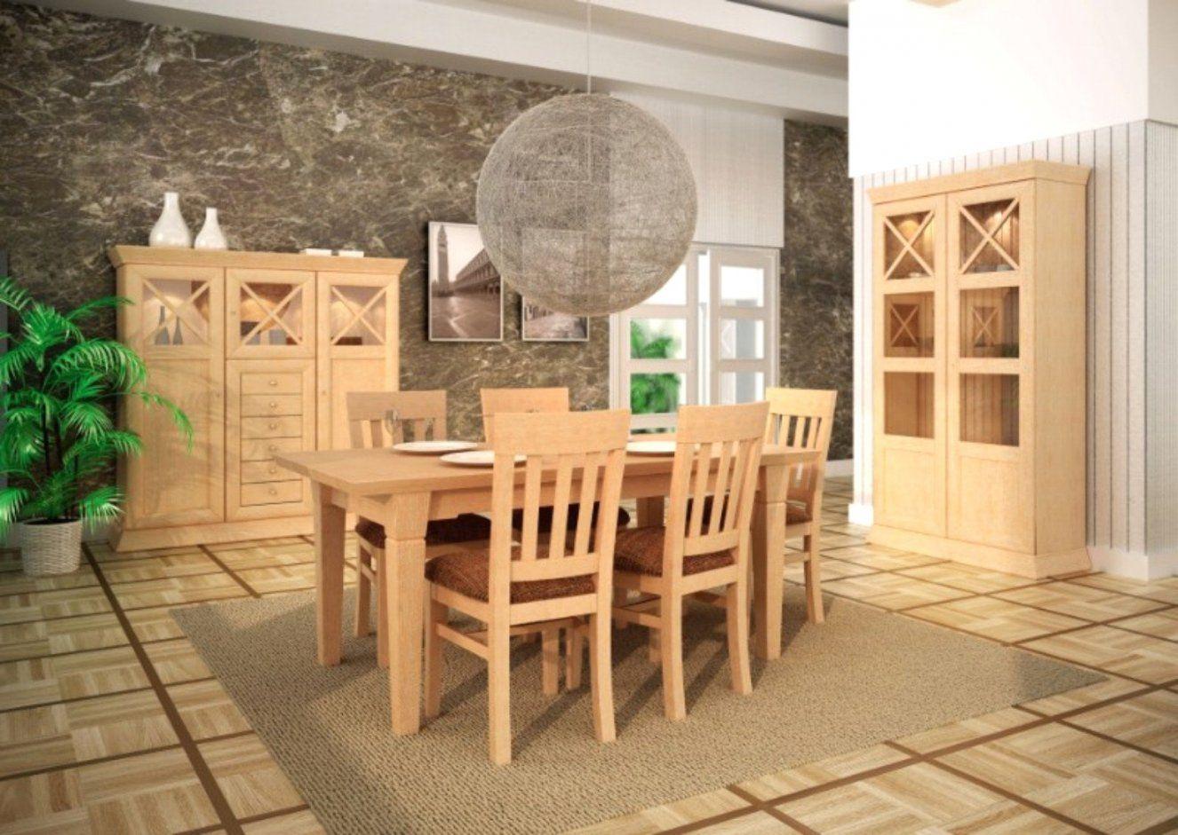 Pinie Tisch von Pinienmöbel Gekälkt Und Gebürstet Photo