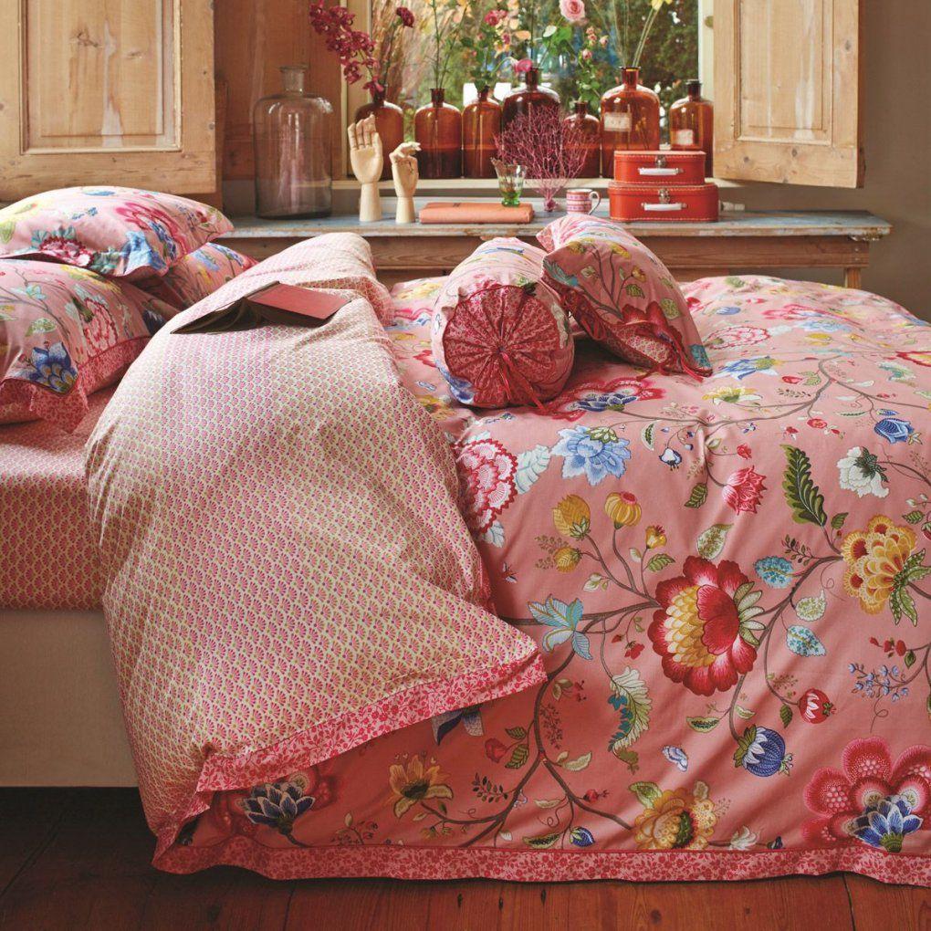 """Pip Studio Bettwäsche """"floral Fantasy"""" (Pink)  Bettwäsche von Pip Bettwäsche 155X220 Photo"""