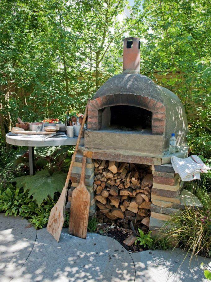 Pizzaofen Bauen  Anleitung Und Fotos  Diy Garten Haus & Garten von Grill Dach Selber Bauen Photo