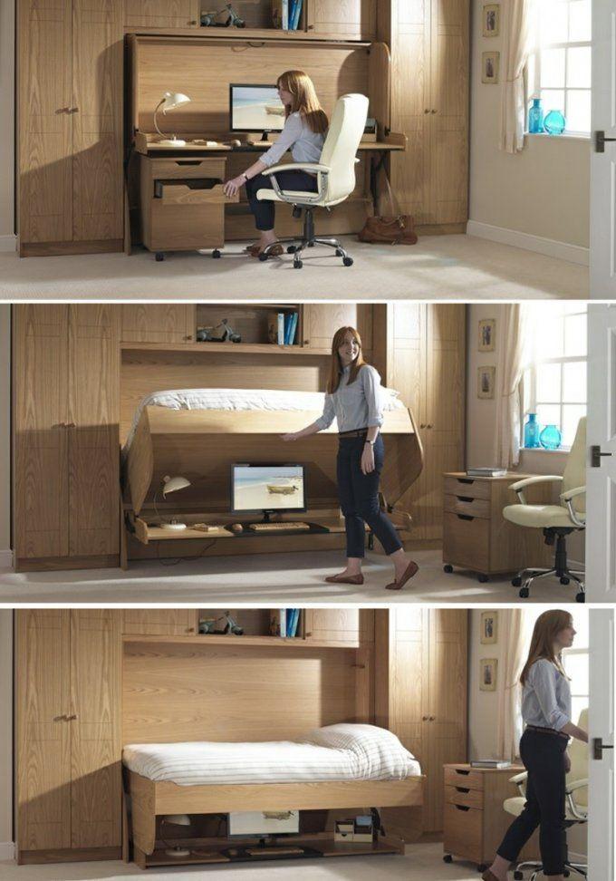 Platzsparendes Bett Selber Bauen  Die Schönsten Einrichtungsideen von Platzsparendes Bett Selber Bauen Photo