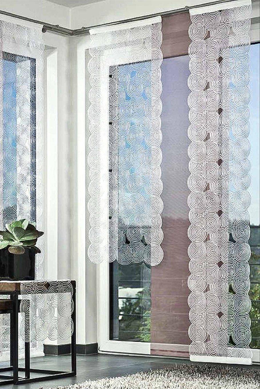 Plauener Spitze Gardinen Modern Mit Fensterbehang Viora Bergen von Viora Gardinen Kaufen Bild