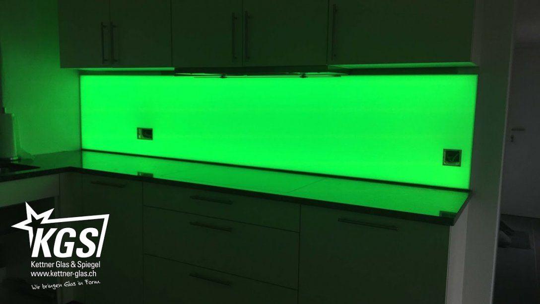Plexiglas Lackieren Und Beleuchten Mit Led Küchenrückwand Youtube 8 von Plexiglas Beleuchtet An Der Wand Bild