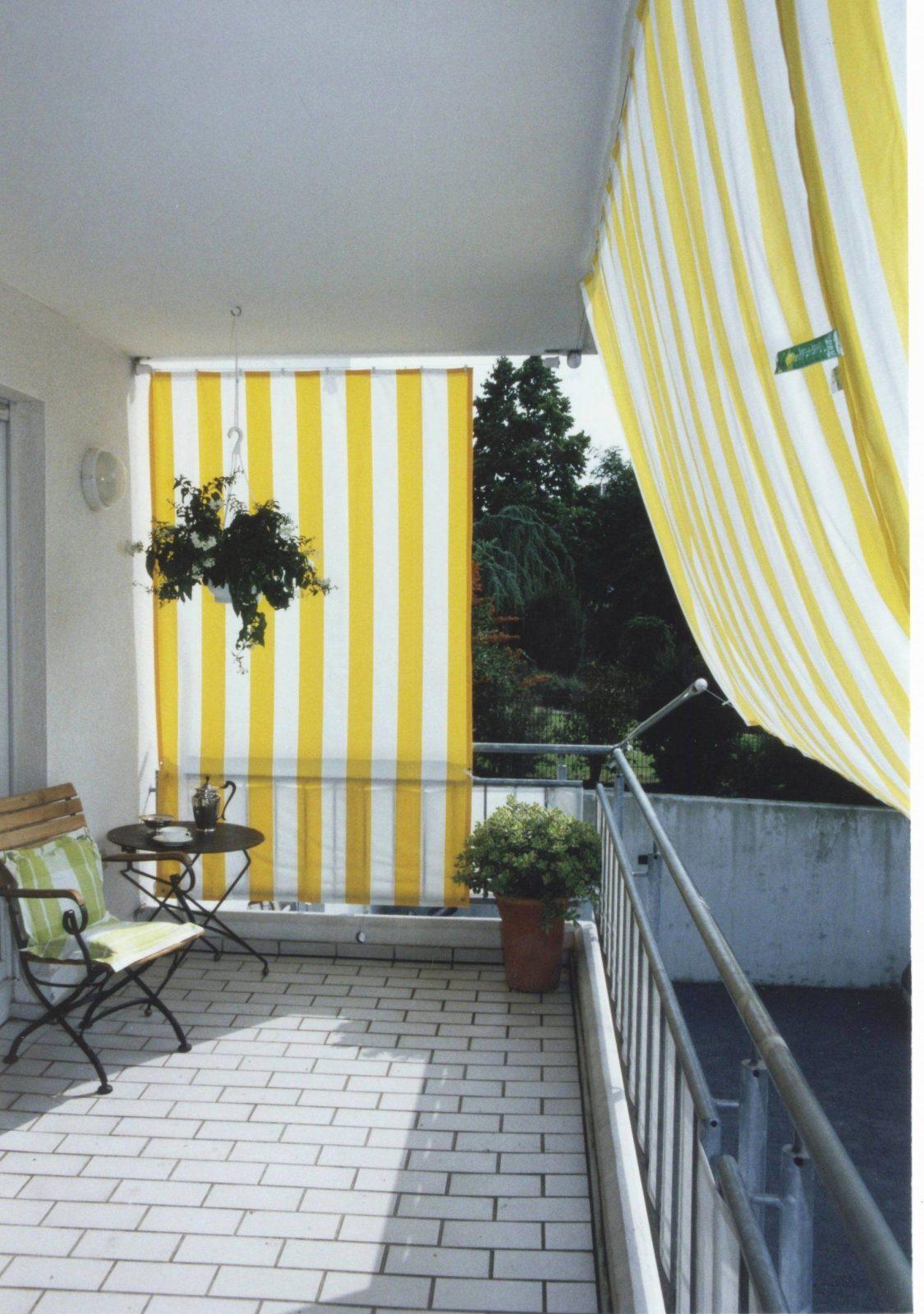 seitlicher sichtschutz f r balkon ohne bohren haus. Black Bedroom Furniture Sets. Home Design Ideas