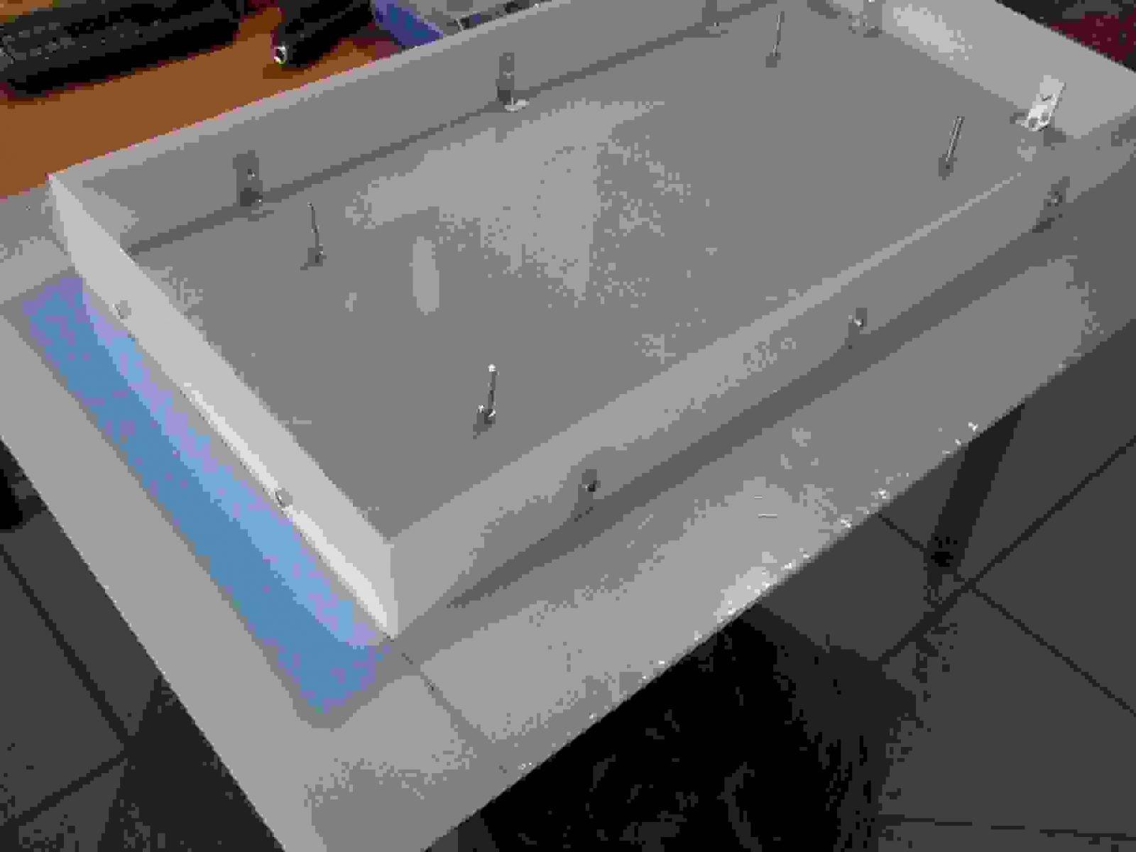 Plexiglasvitrine Einfach Und Billig Ist Oberteil Planen Von von Plexiglas Vitrine Selber Bauen Photo