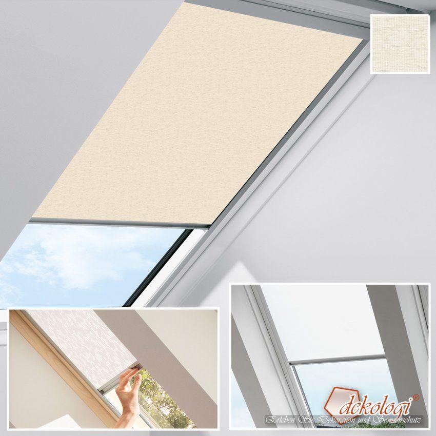 Plissee Dachfenster Velux Ohne Bohren Gallery Of Excellent Bilder von Velux Dachfenster Plissee Ohne Bohren Bild