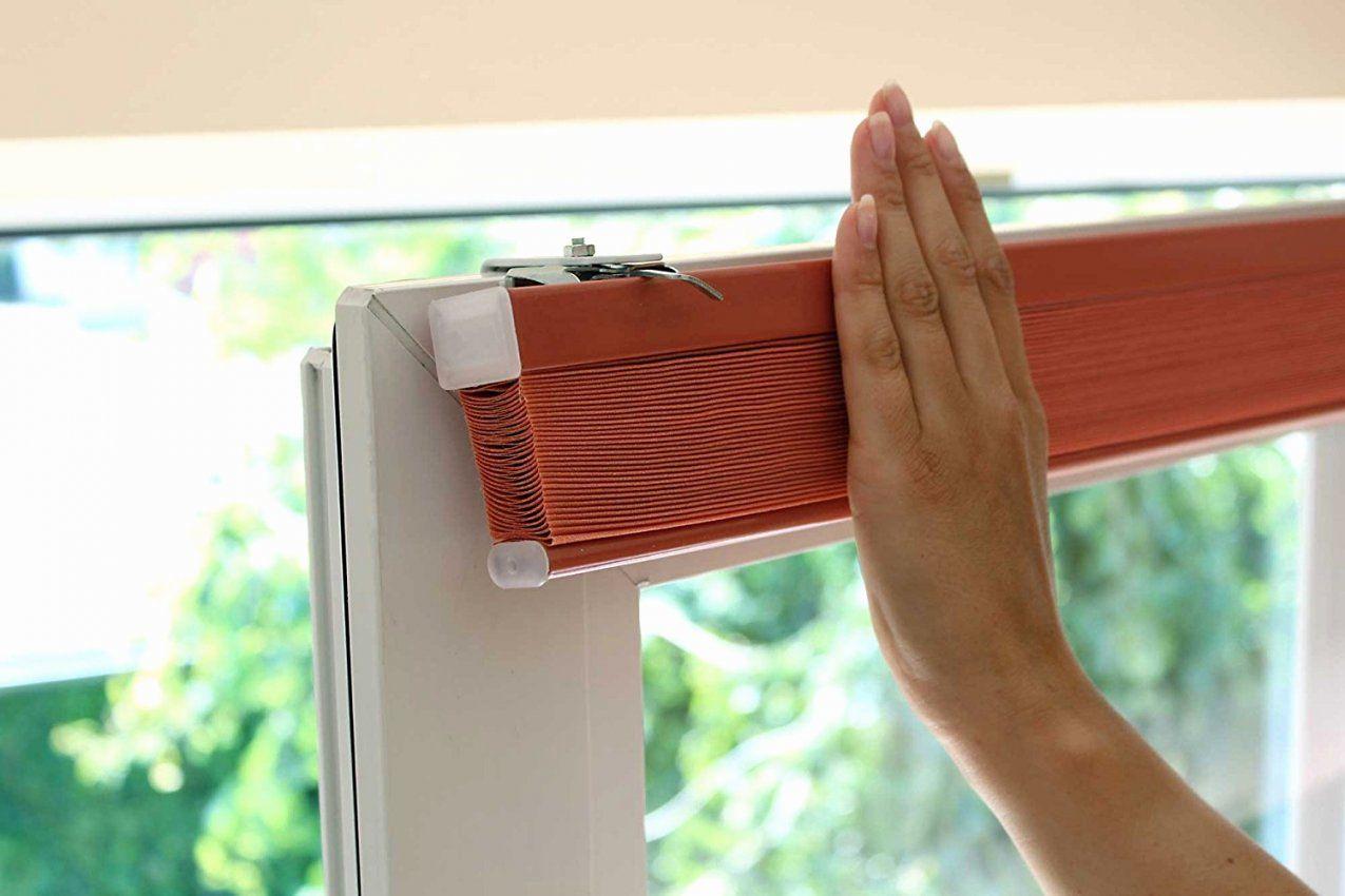 Plissee Fenster Innen Bj58 – Hitoiro Einzigartige Plissee Rollo Ohne von Fenster Rollos Für Innen Ohne Bohren Photo