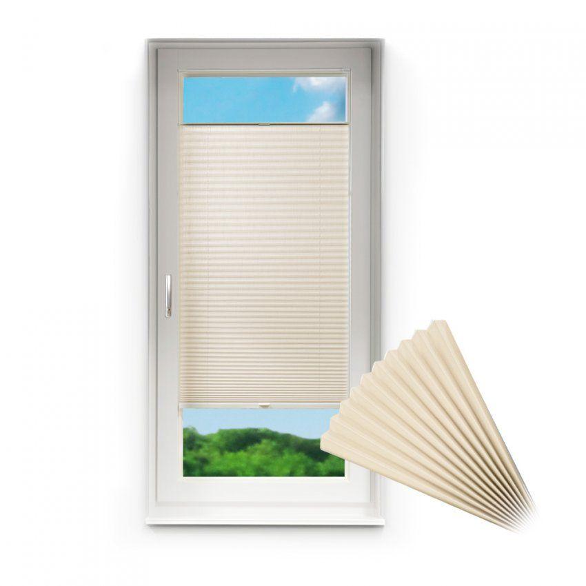 Plissee Für Fenster & Türen Rollojalousie Opt Klemmfixklemmen O von Rollo Ins Fenster Klemmen Bild