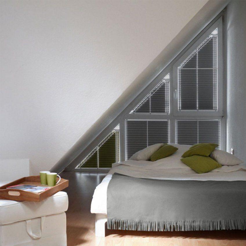 Plisseerollos Für Giebelfenster  Rollomeister von Jalousien Für Dreieckige Fenster Photo