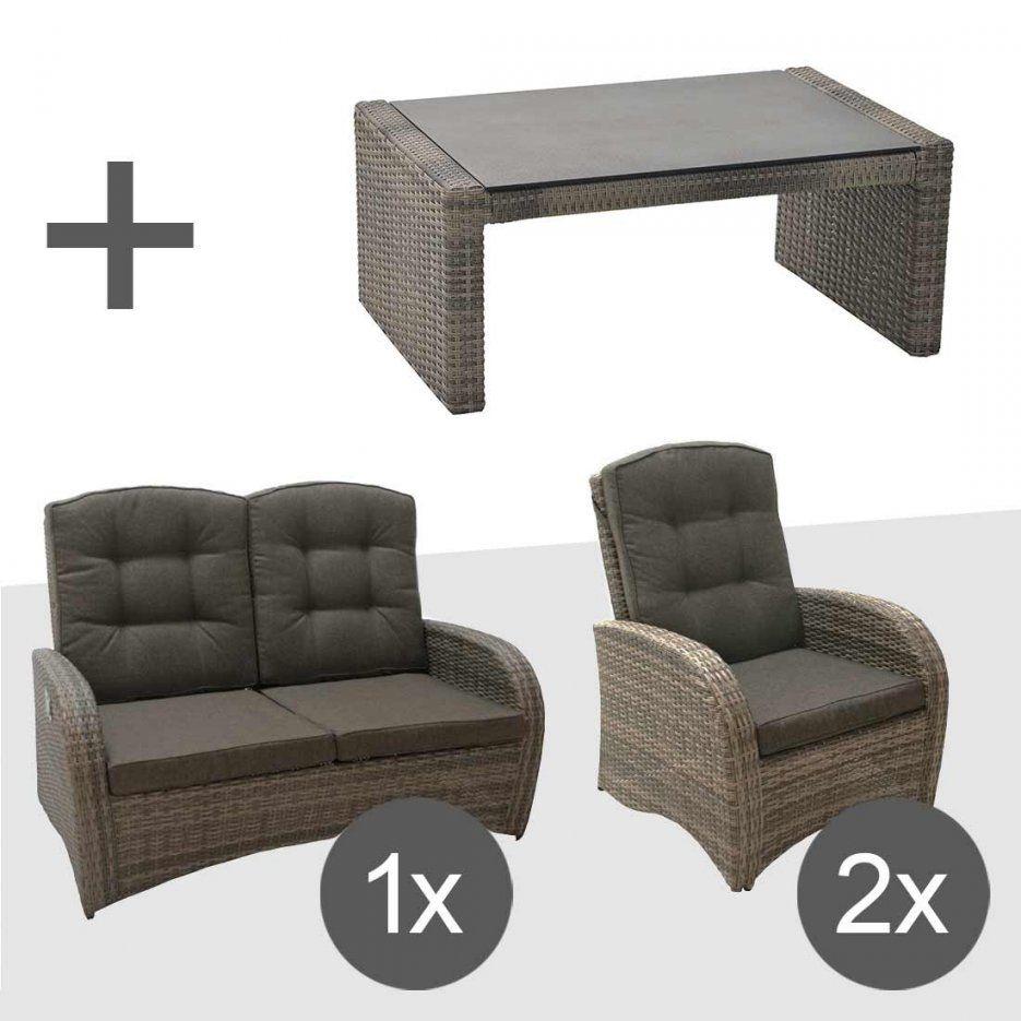 Ploß Rabida Sofagruppe 4Teilig Geflecht  Garten & Freizeit von Ploß Rabida Lounge Set Bild