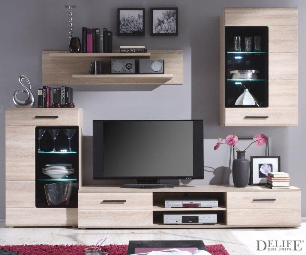 poco wohnwand sonoma eiche haus design ideen. Black Bedroom Furniture Sets. Home Design Ideas
