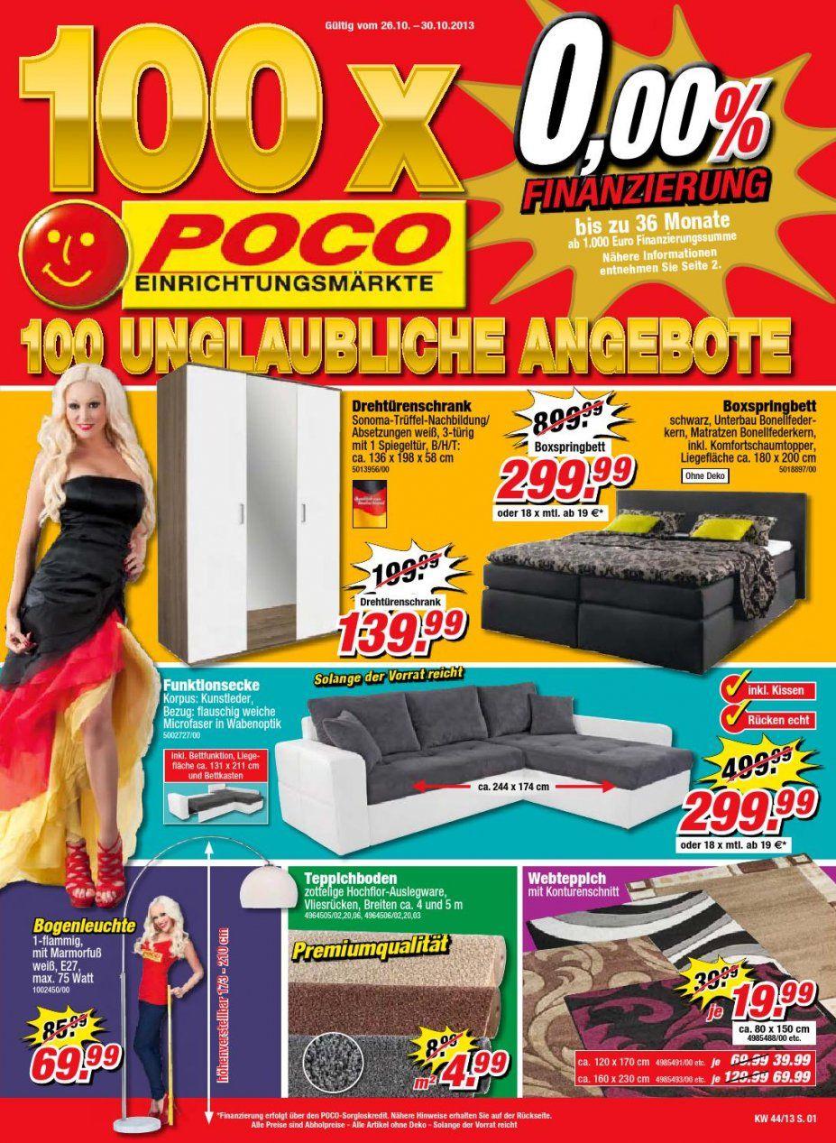Poco Katalog Gültig Bis 3010Broshuri  Issuu von Poco Domäne Boxspringbett 299€ Bild
