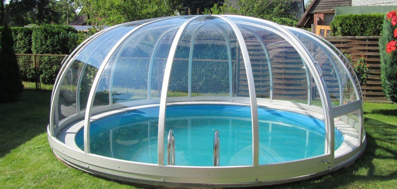 Pool Abdeckung Pool Pool Abdeckplane Poolueberdachung Pool Con von Poolabdeckung Rund Selber Bauen Bild