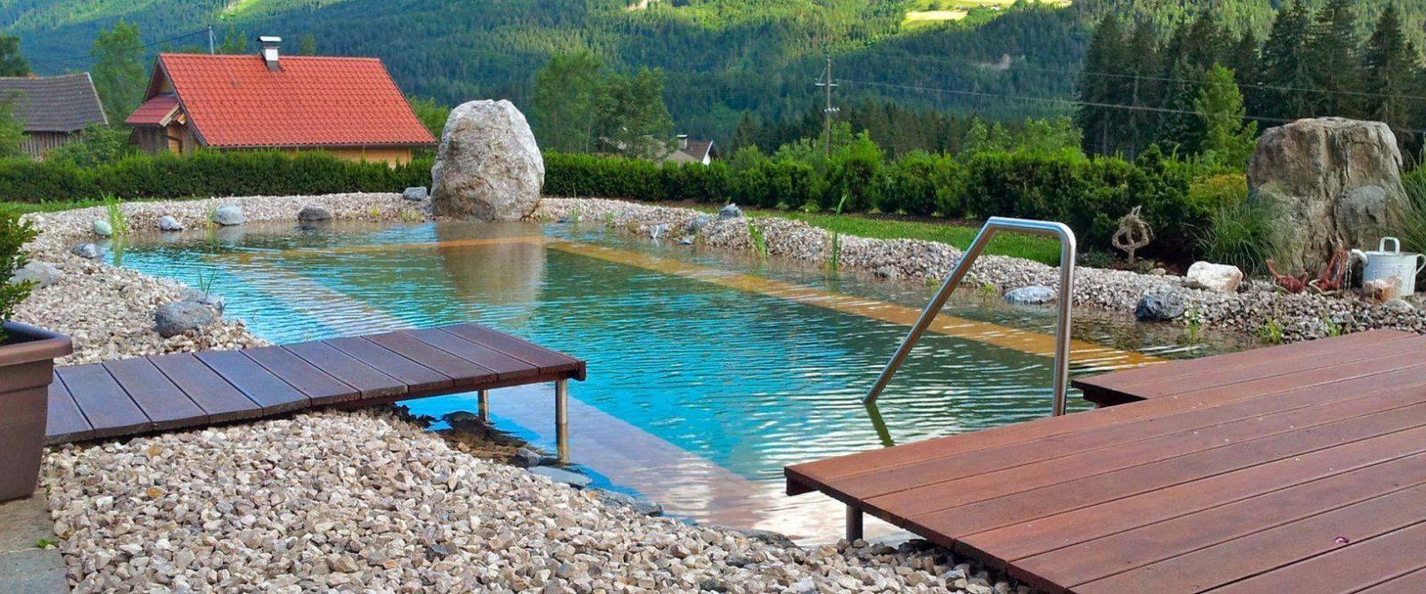 Pool Aus Holz Selber Bauen Ehrfurcht Gebietend Poolumrandung Rund von Poolabdeckung Selber Bauen Holz Bild