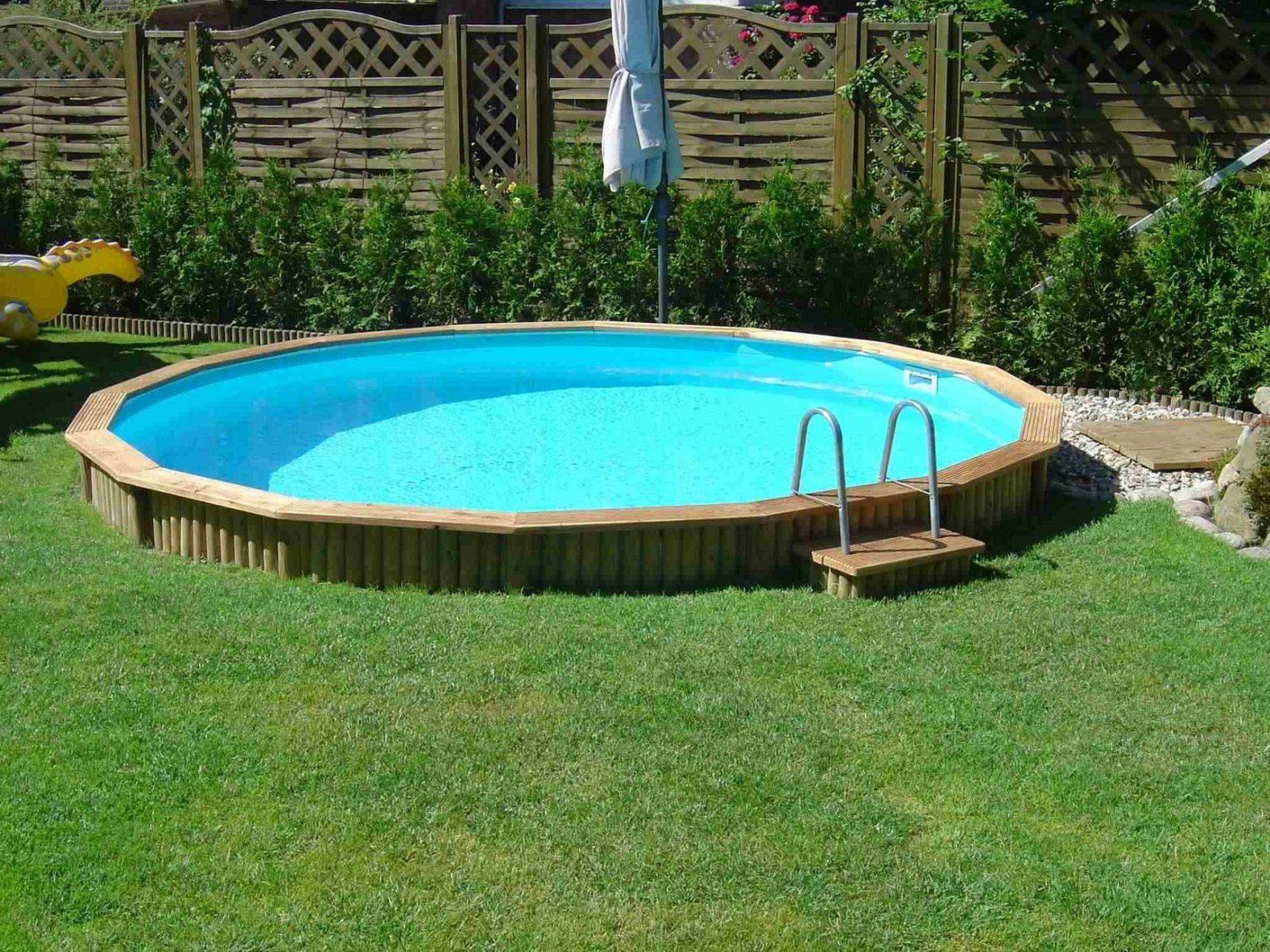 Pool Mit Umrandung Se02 – Hitoiro von Runder Pool Im Garten Bild