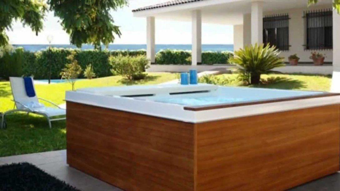 Pool Selber Gebaut  Youtube von Whirlpool Umrandung Selber Bauen Photo