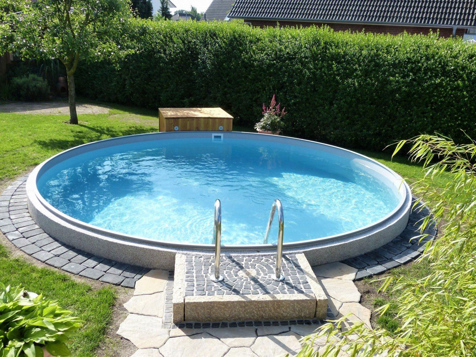 Poolakademie Bauen Sie Ihren Pool Selbst Wir Helfen Ihnen Elegant von Garten Gestalten Mit Pool Bild