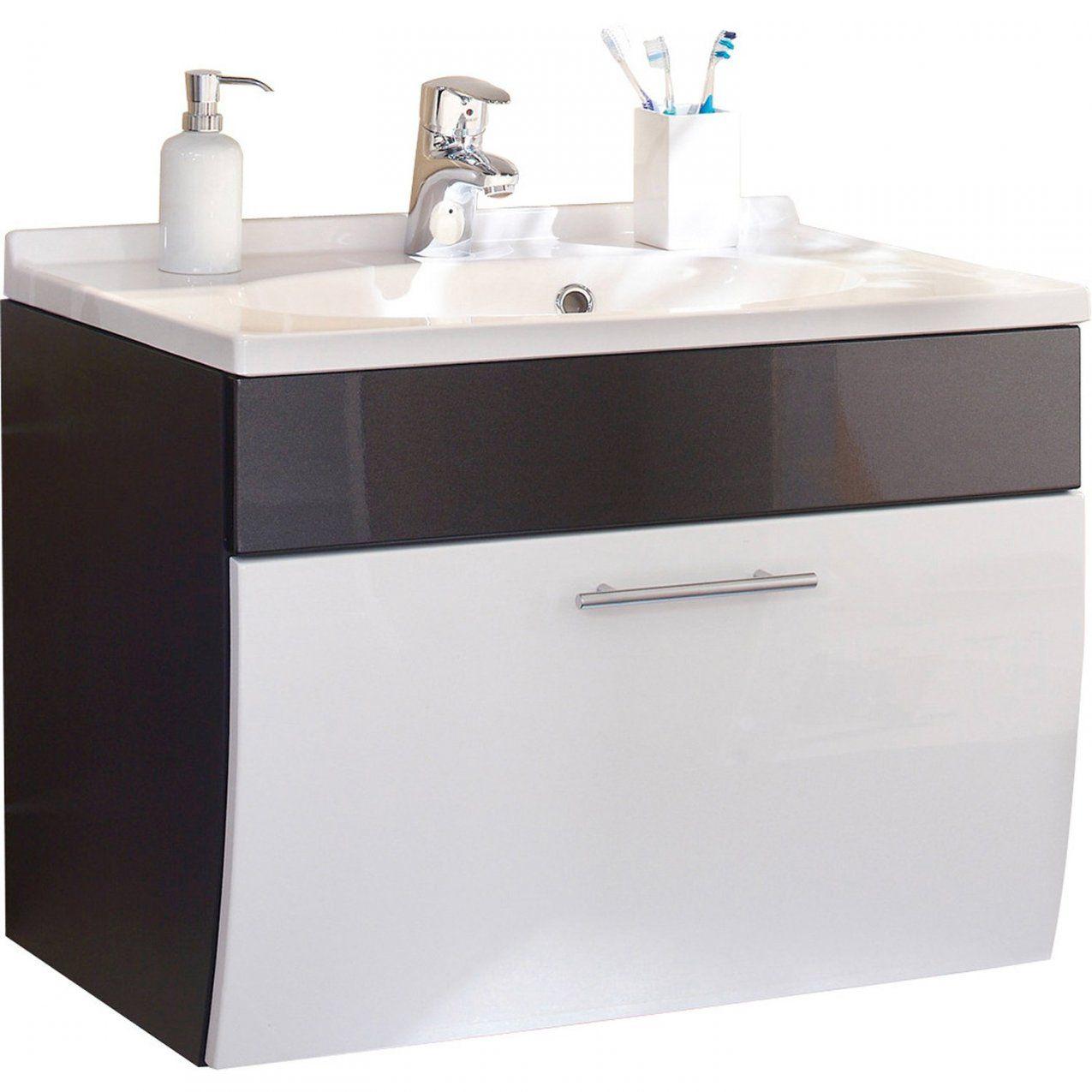 Posseik Waschplatz 70 Cm Salona Anthrazitweiß Kaufen Bei Obi von Obi Waschtisch Mit Unterschrank Bild