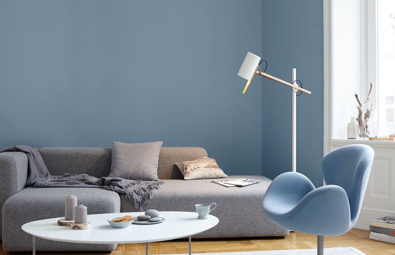 Premiumwandfarbe Blau Graublau Alpina Feine Farben Ruhe Des von Alpina Ruhe Des Nordens Bild