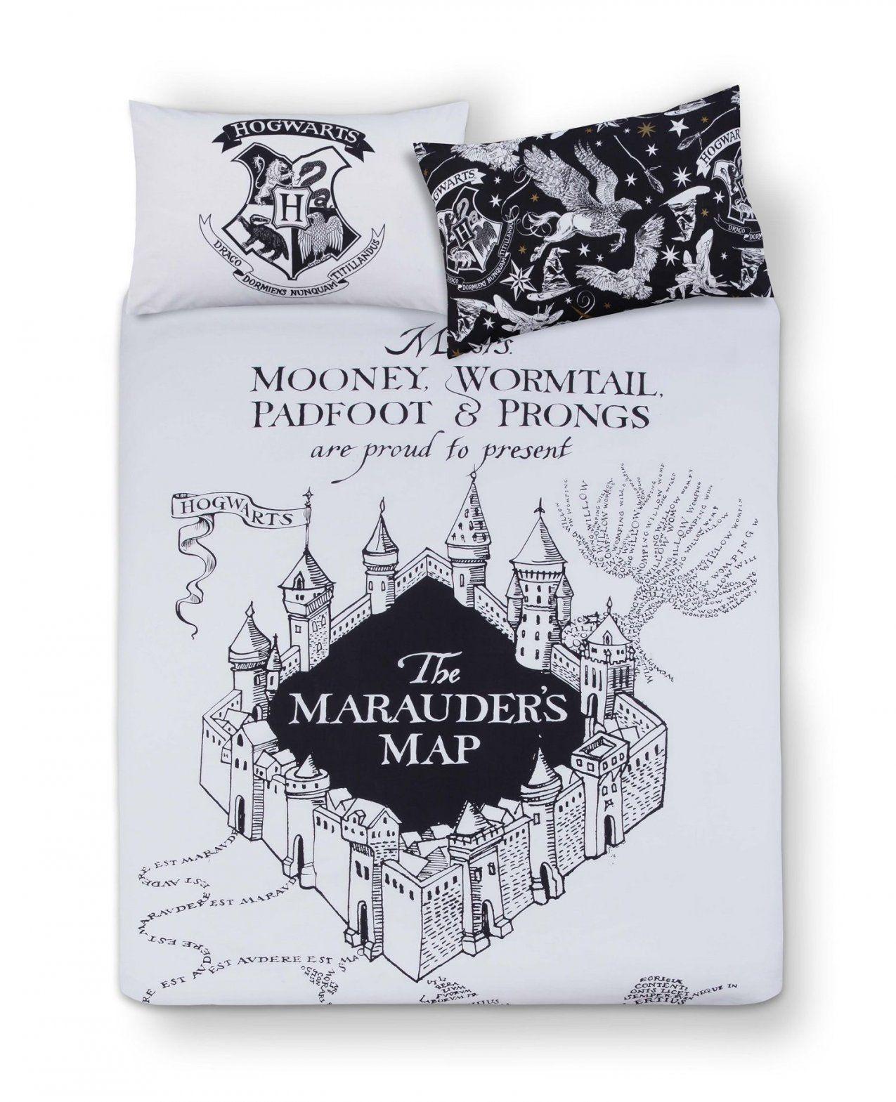 Primark  Harry Potter Mono Double Bed Set  Harry Potter  Pinterest von Primark Harry Potter Bettwäsche Bild
