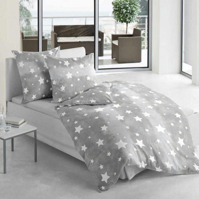 Prissy Inspiration Bettwäsche Sterne Grau Mit Sternen Möbelideen Von von Biber Bettwäsche Sterne Grau Bild