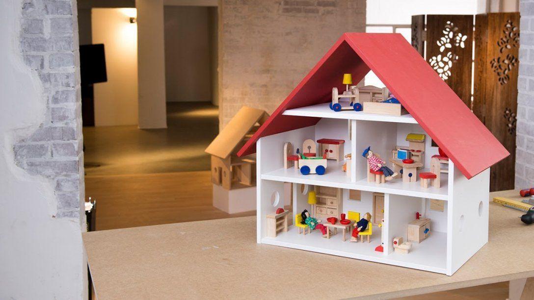 Project Tutorial Puppenhaus Selber Bauen  Youtube von Möbel Für Puppenhaus Selber Basteln Bild