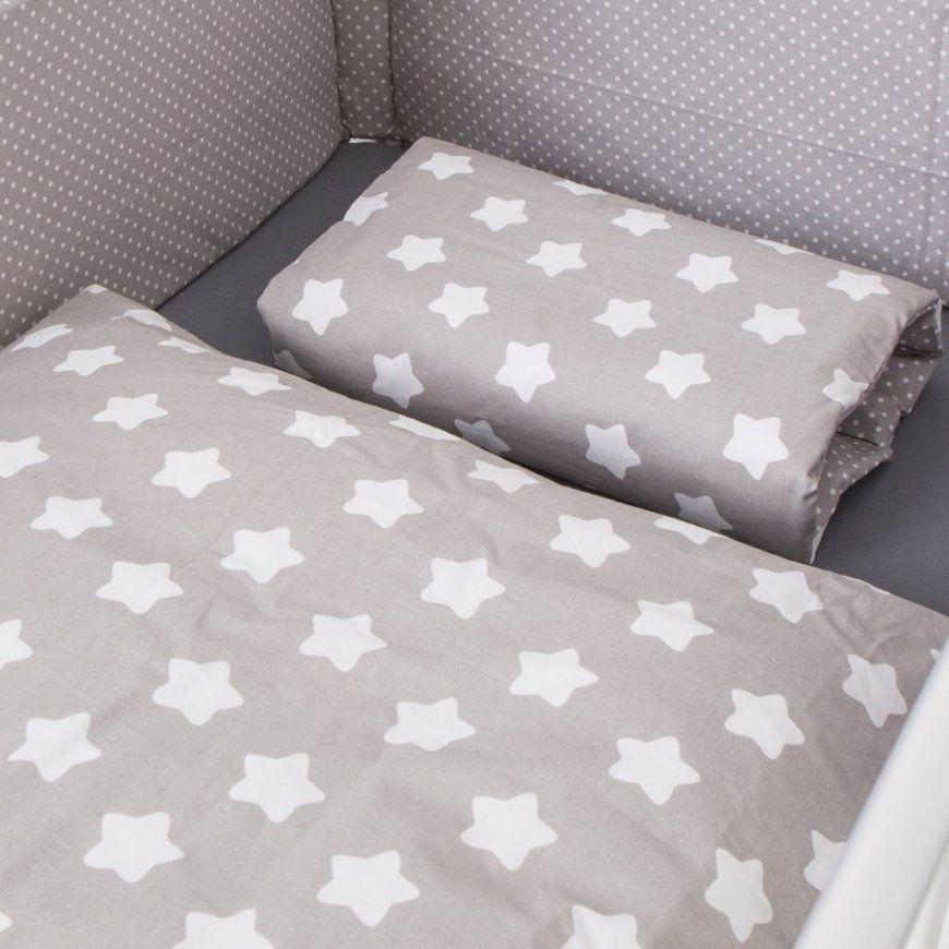 Puckdaddy Kinderbettwäsche Mit Sterne Und Punkten  Puckdaddy  Die von Ikea Bettwäsche Punkte Photo