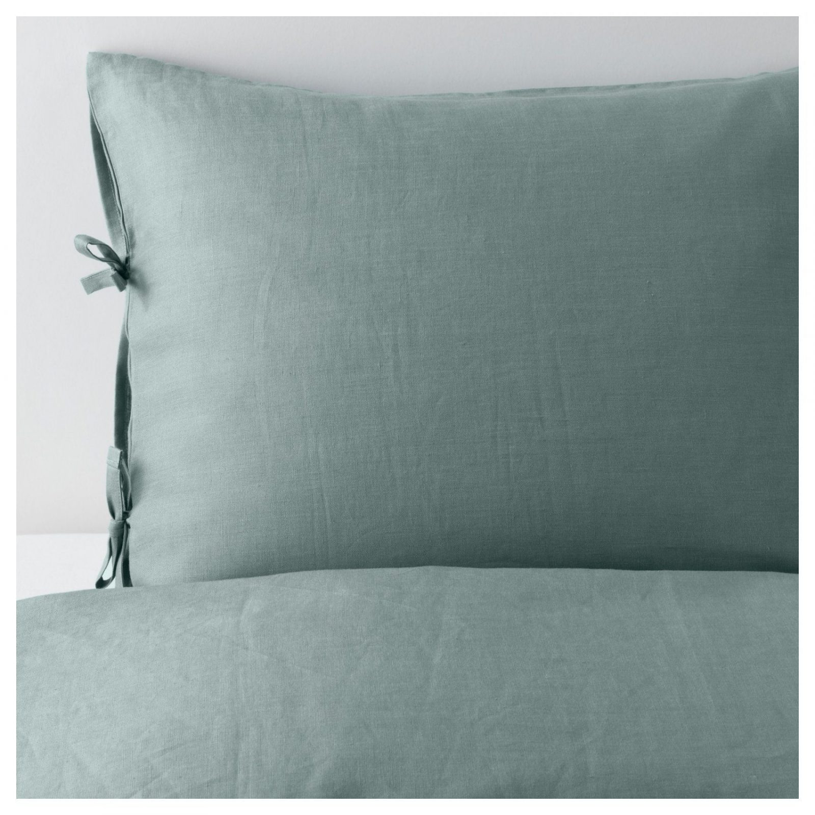 Puderviva Bettwäscheset 2Teilig  150X20050X60 Cm  Ikea von Ikea Leinen Bettwäsche Bild
