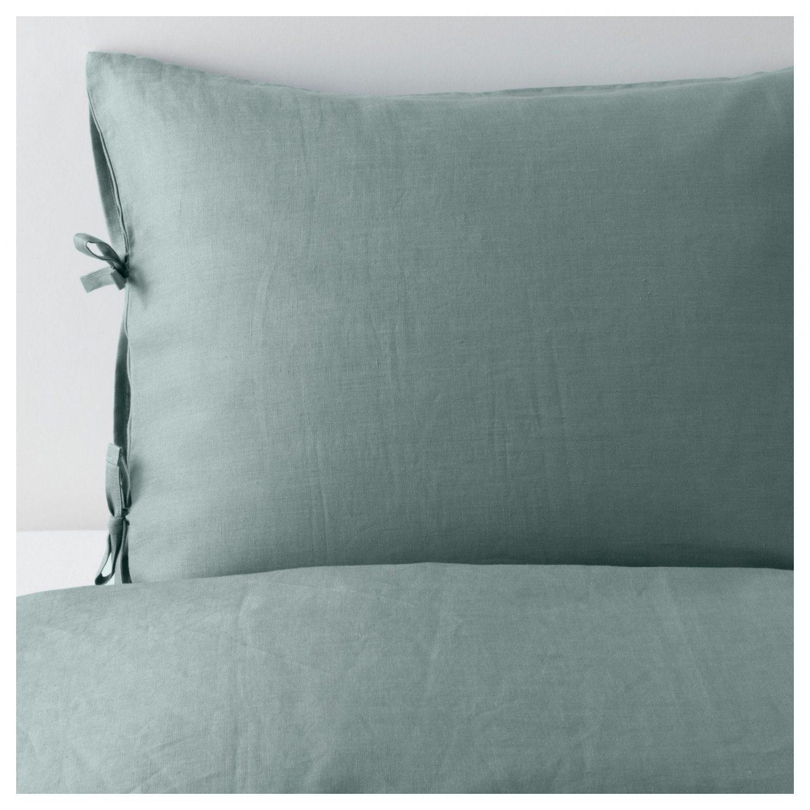 Puderviva Bettwäscheset 2Teilig  150X20050X60 Cm  Ikea von Leinen Bettwäsche Ikea Bild